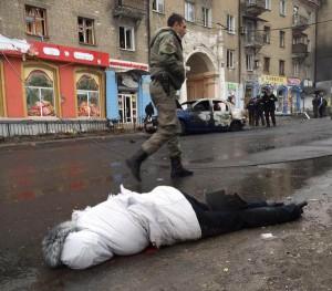 Ukrayna'da otobus duragina saldiri